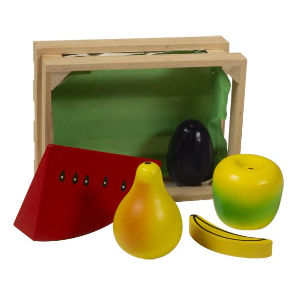 Caissette de fruits OU légumes en bois