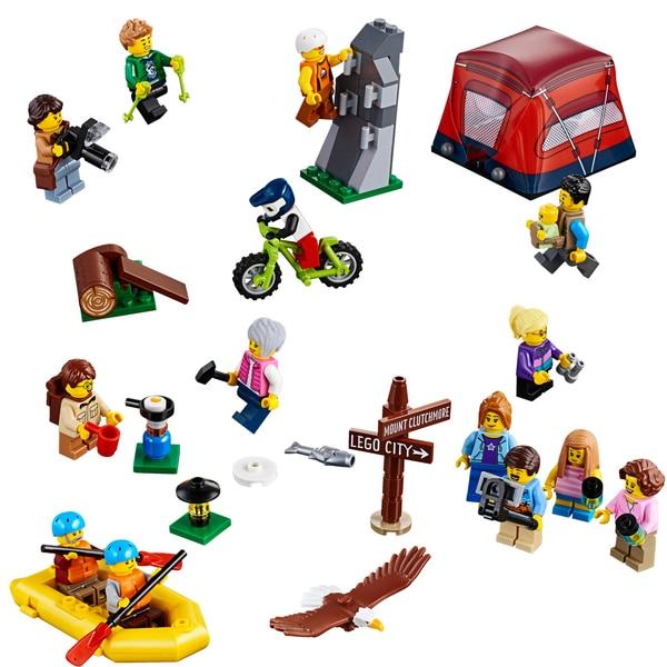 City Lego Figurines Plein Aventures En Les 60202 Lego® Odbeqcxwr Air 6gb7Yyf