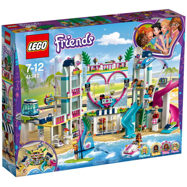 41347 - LEGO® FRIENDS - Le complexe touristique d'Heartlake City
