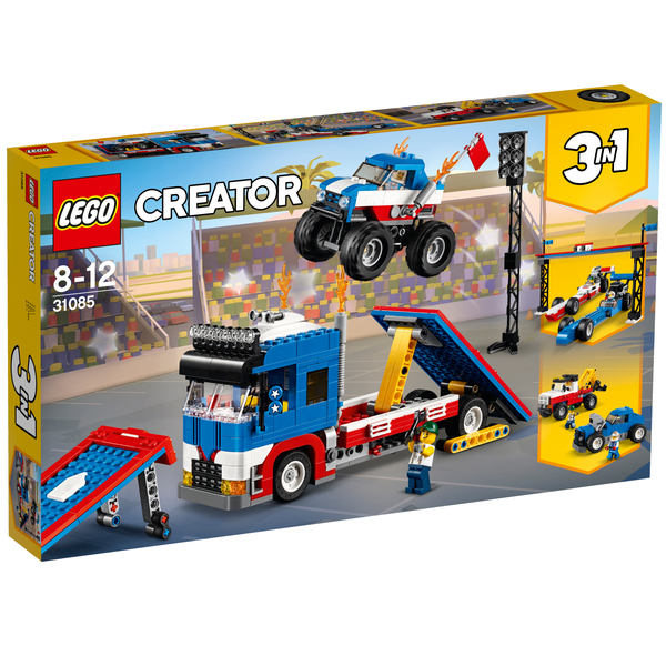 31085 - LEGO® CREATOR - Le spectacle des cascadeurs