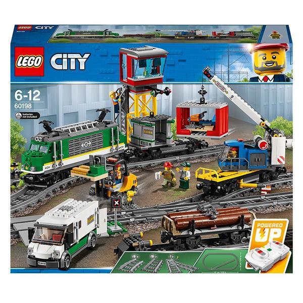 60198-LEGO® Le train de marchandises télécommandé