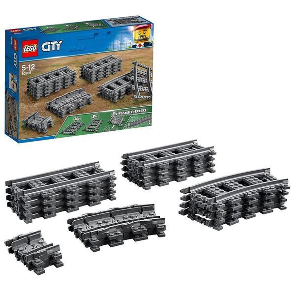 60205-LEGO® City Pack de rails