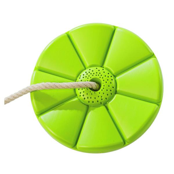 Siège balançoire disque vert