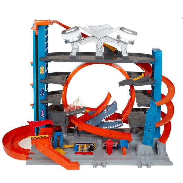 Hot Wheels-Méga Garage Ultimate Mattel : King Jouet
