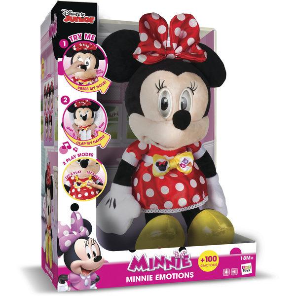Peluche interactive Minnie émotions