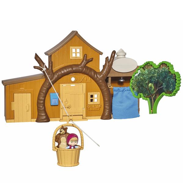 Masha & michka - maison de masha 9 etages + accessoires