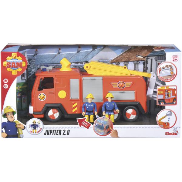 Sam Le Sons Camion Jupiter Pompier Figurine Et Lumières1 srxdCQth
