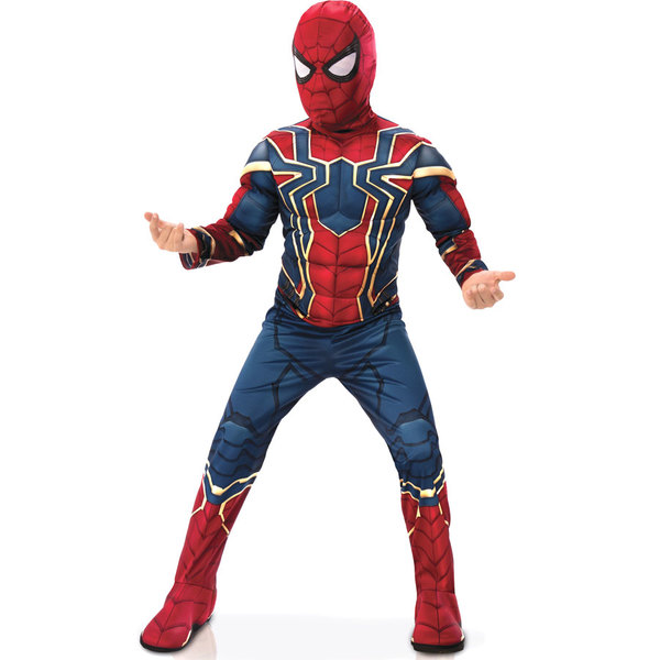 Déguisement Luxe Iron-Spider 7/8 ans