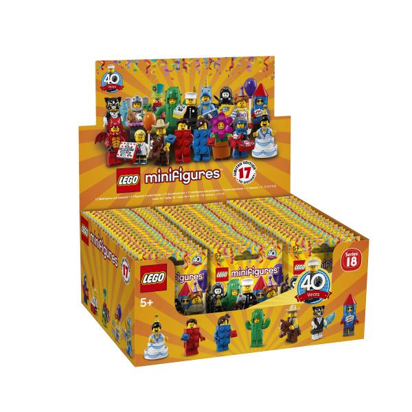 71021-LEGO® Box Mini figurines série 18