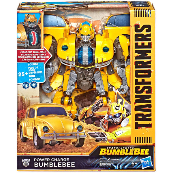 Transformers 6 Power Charge Bumblebee