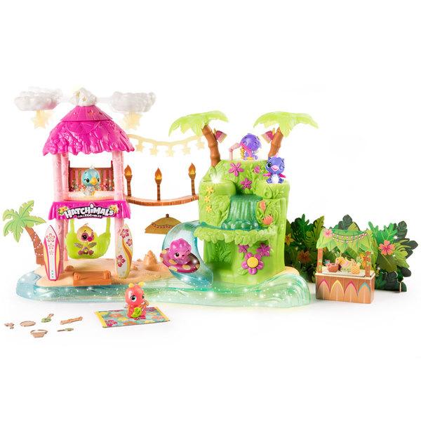 Hatchimals-Playset fête tropicale