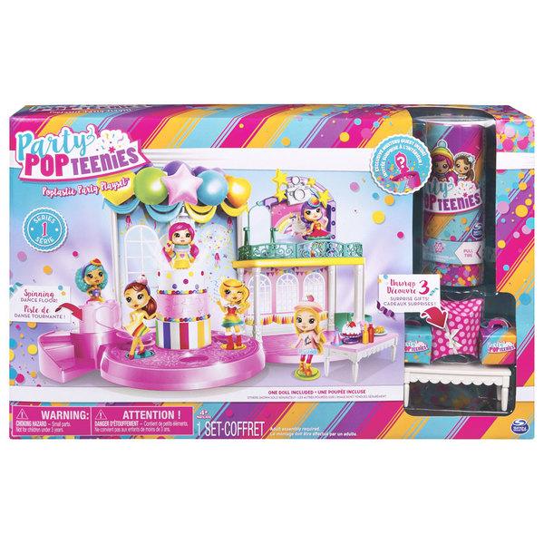 Party Pop Teenies-Playset fête Poptastic
