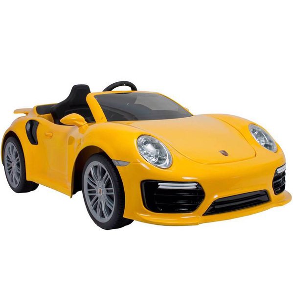 Voiture électrique Porsche 911 Turbo S 6V iMove jaune