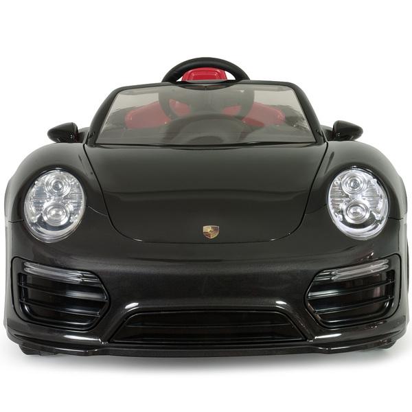 Noire Porsche Turbo 911 Voiture 12v Électrique S Imove InjusaKing ZkXPiu