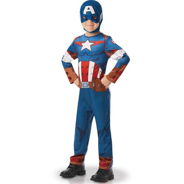 Déguisement Captain America 7/8 ans
