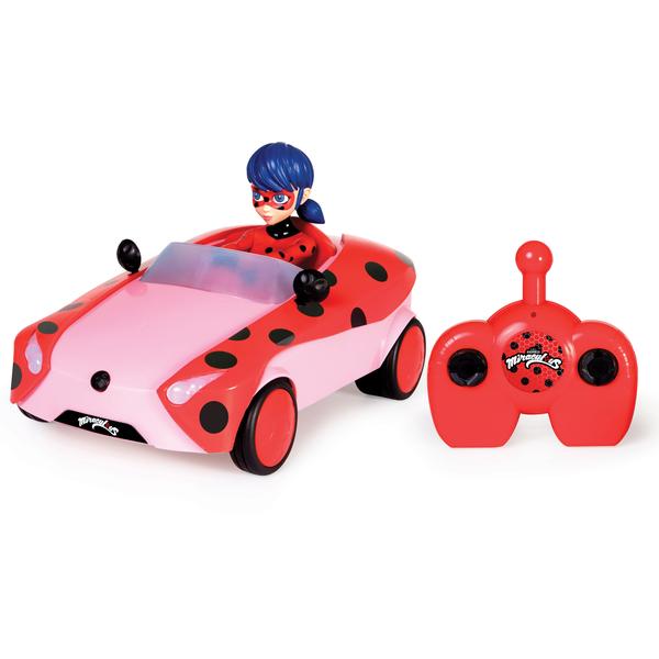 Miraculous - Voiture radiocommandée Ladybug