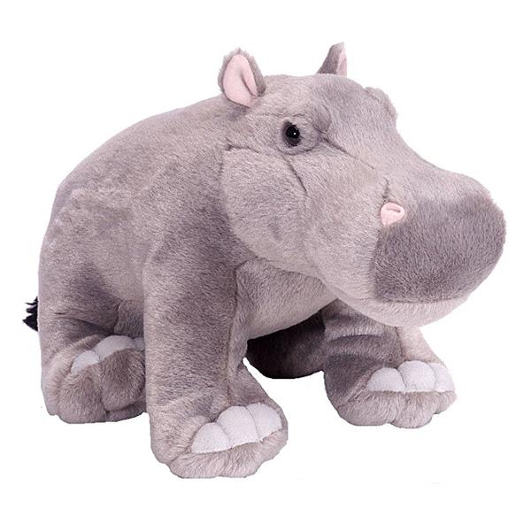 Peluche hippopotame 30 cm