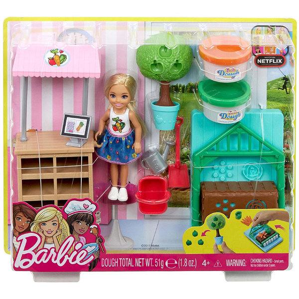 Barbie-Chelsea coffret potager à modeler