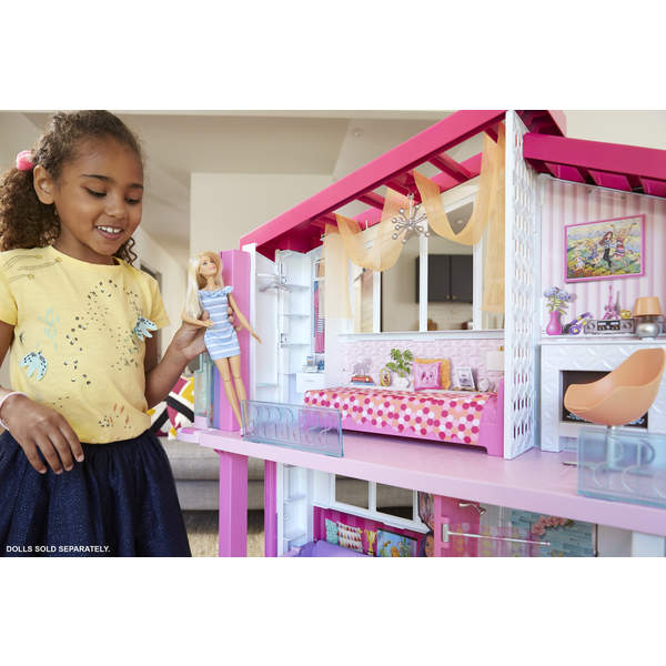 Barbie maison de r ve mattel king jouet accessoires de poup es mattel poup es peluches - Maison de reve de barbie ...