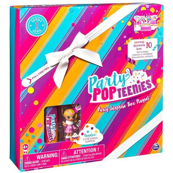 Party Pop Teenies-Boite de fête surprise