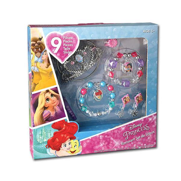 Disney Princesses-Coffret bijoux 9 pièces