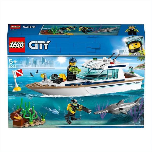 60221-LEGO® City Le yacht de plongée
