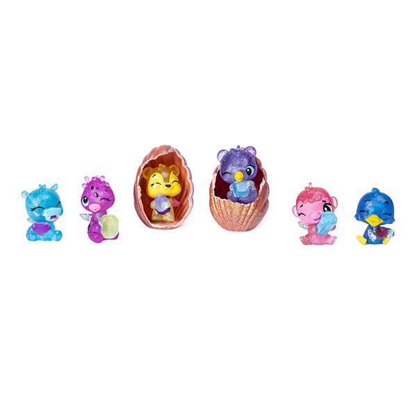 Hatchimals saison 5-Coffret coquillage 6 figurines