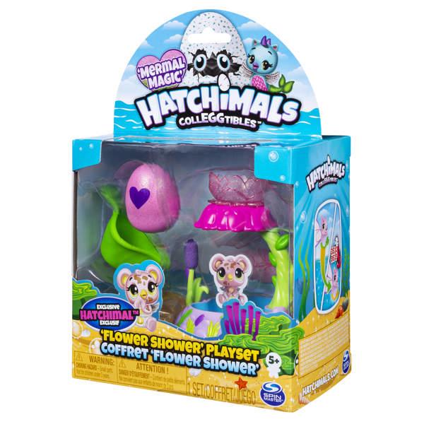 Hatchimals saison 5-Douche fleur avec figurine