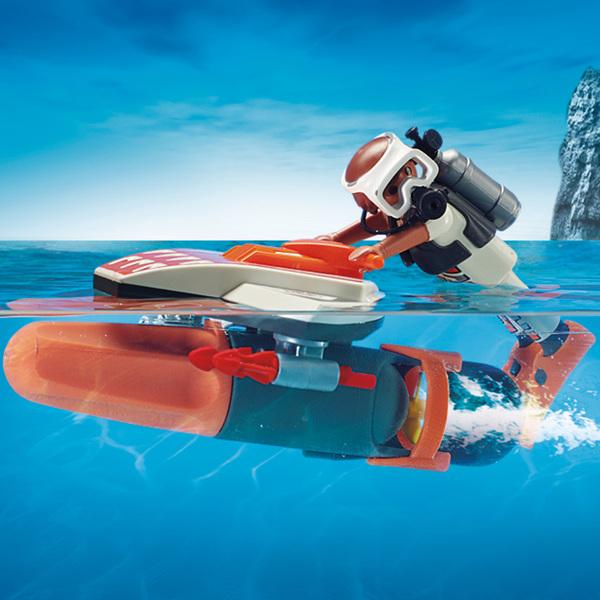 70004 - Playmobil Top Agents - Propulseur sous-marin
