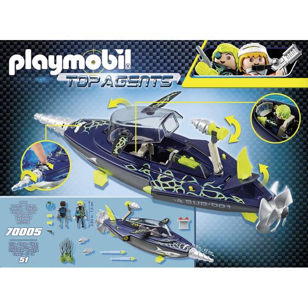 Marin Agents Playmobil k S Sous Top h a Team r 70005 Nny8vm0wO