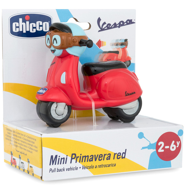 Mini Vespa Primavera rouge