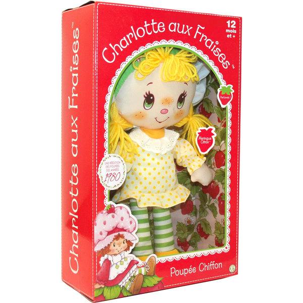 Charlotte aux Fraises-Poupée chiffon meringue citron