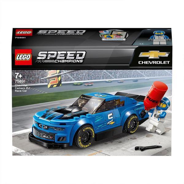 75891-LEGO® Speed Champions La voiture de course Chevrolet Camaro ZL1