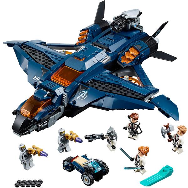 Lego® Le Avengers Quinjet Marvel Des 76126 PXiuZOk