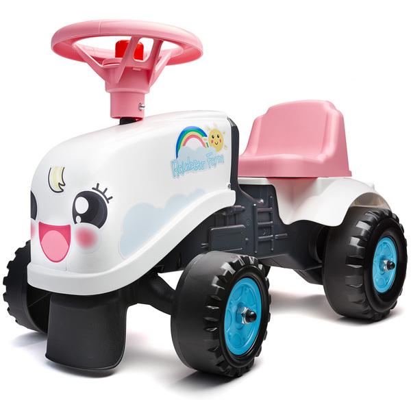 Porteur tracteur Rainbow Farm avec remorque