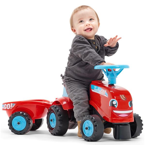 Go Tractor Rouge Porteur Tracteur CxoerdWQB