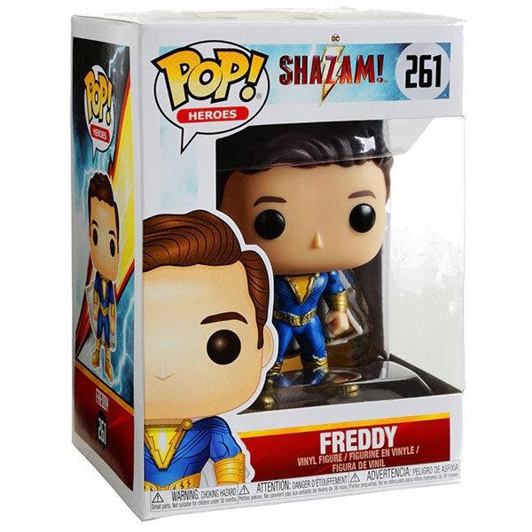 Funko Pop DC Comics Shazam-Figurine Freddy Freeman