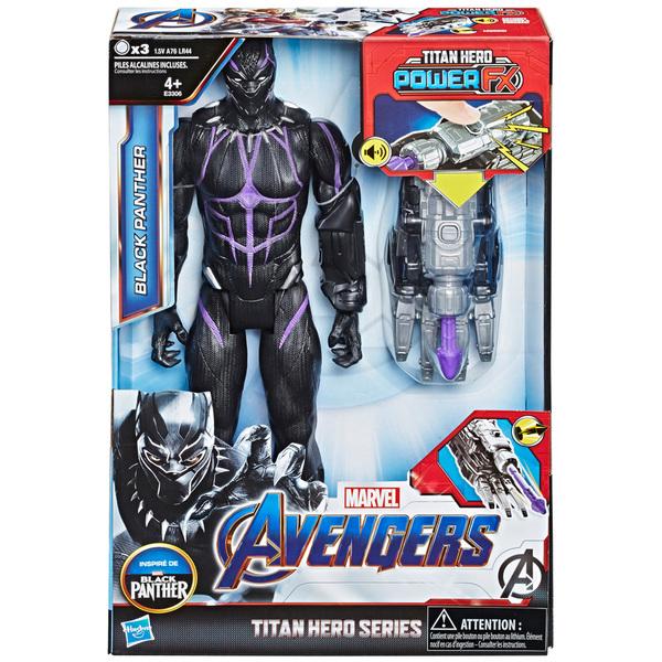 Avengers-Figurine Black Panther 30 cm Titan Hero Power FX