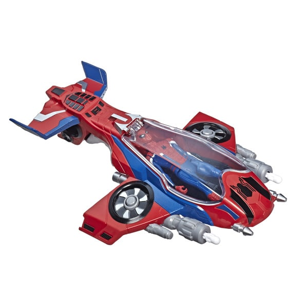 Marvel Spider-Man Far From Home-Spider Jet avec sa figurine