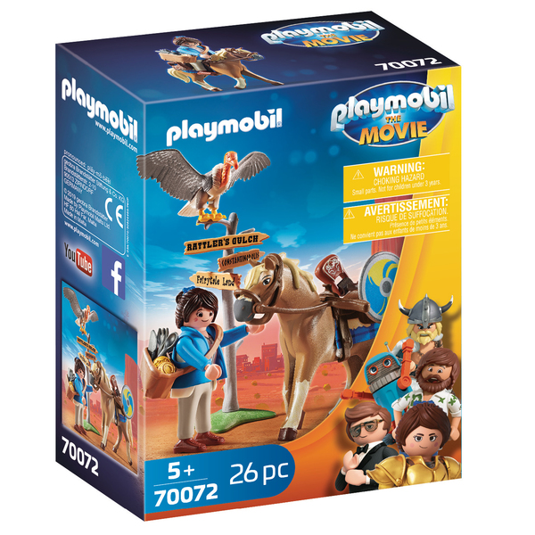 70072 - Playmobil The Movie - Marla avec cheval