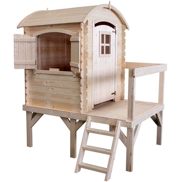 Maison en bois Rose