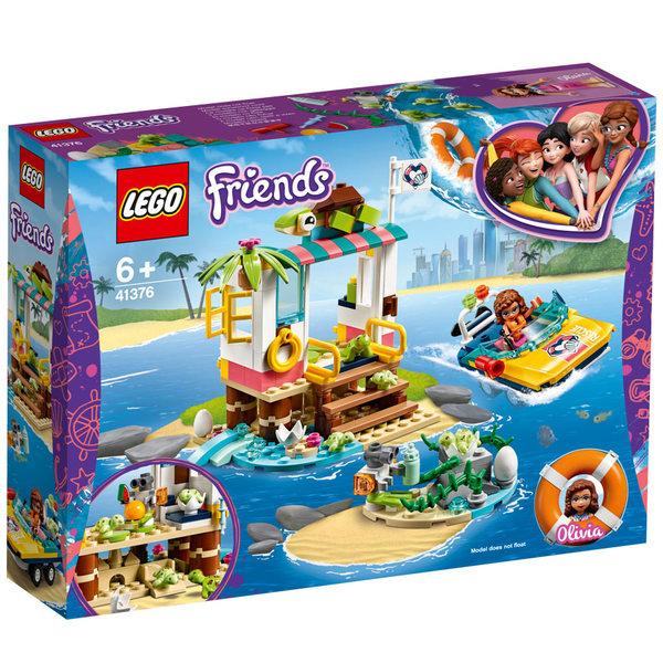 41376-LEGO® Friends la mission de sauvetage des tortues
