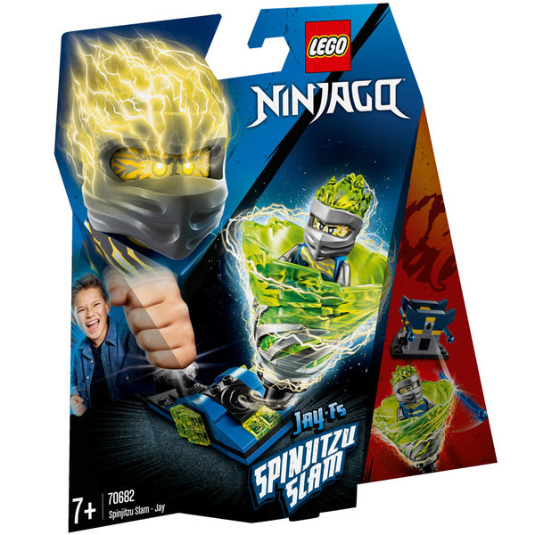 70682-LEGO® Ninjago Spinjitzu Slam Jay