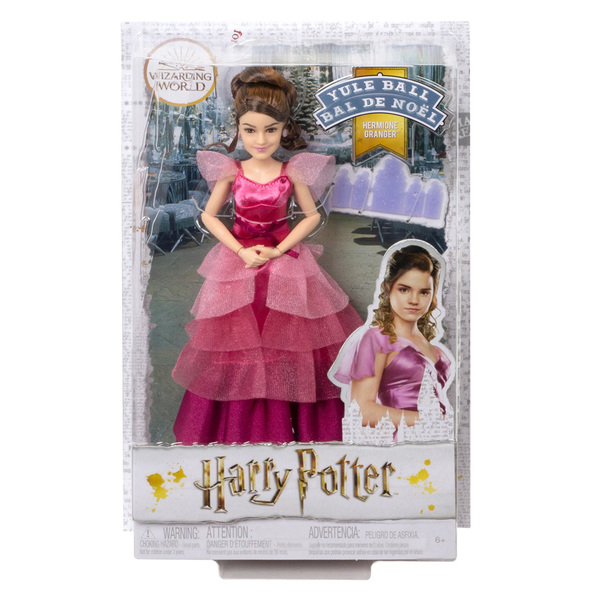 Harry Potter-Poupée Hermione Bal de Noël