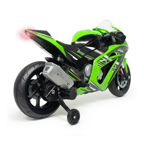 Moto de course électrique Kawasaki 12V