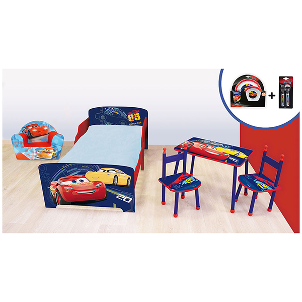 Pack Chambre Disney Cars 3