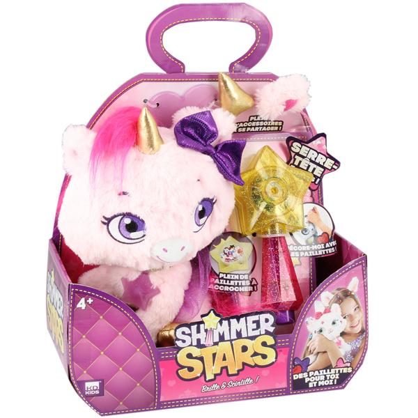 Peluche Shimmer Stars la licorne