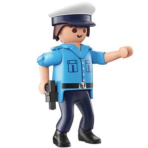 figurine Playmobil Policier