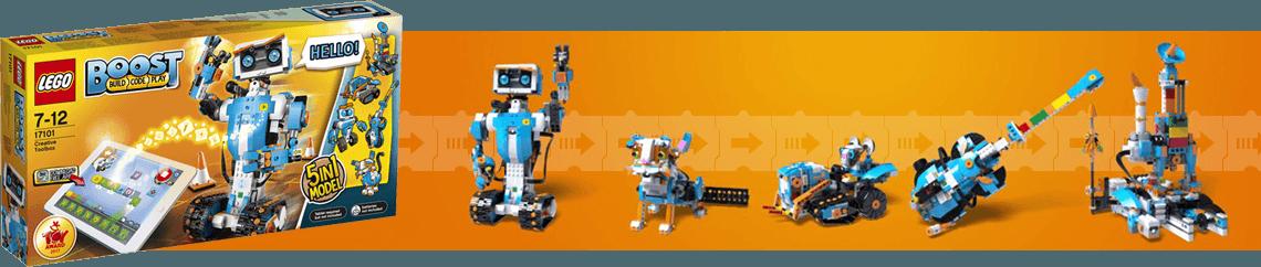 Lego BOOST, 5 models en 1 !