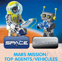 Playmobil Space - Top Agents - Les Véhicules